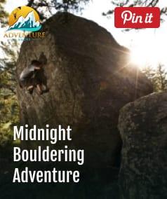 Midnight Bouldering Advenure Big Rock Ridge California