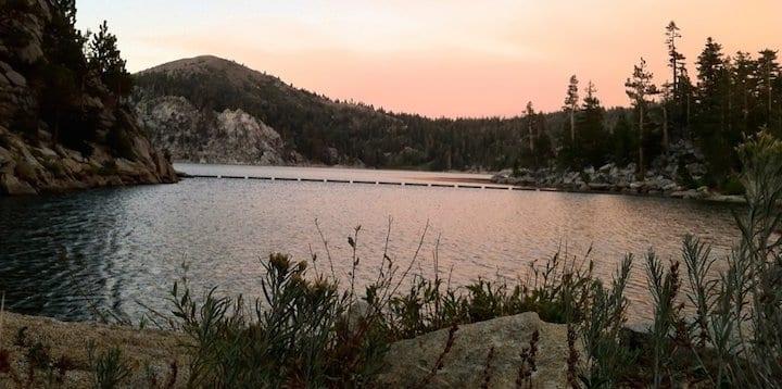 Washoe Lake Spooner Summit