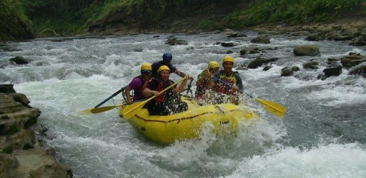 White Water Rafting Rivers Fiji