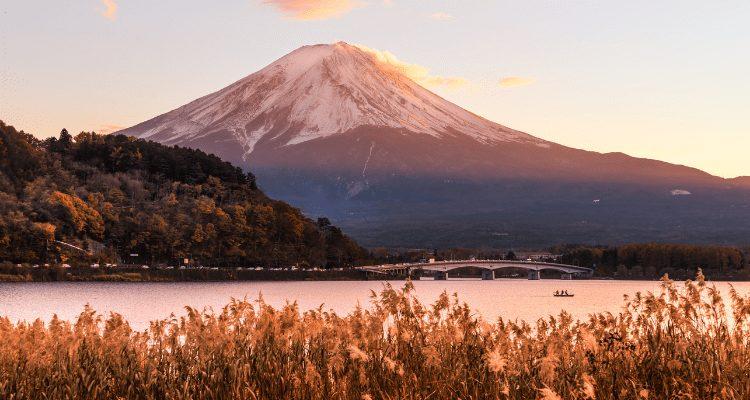 Mount Fuji, Japan Sunset