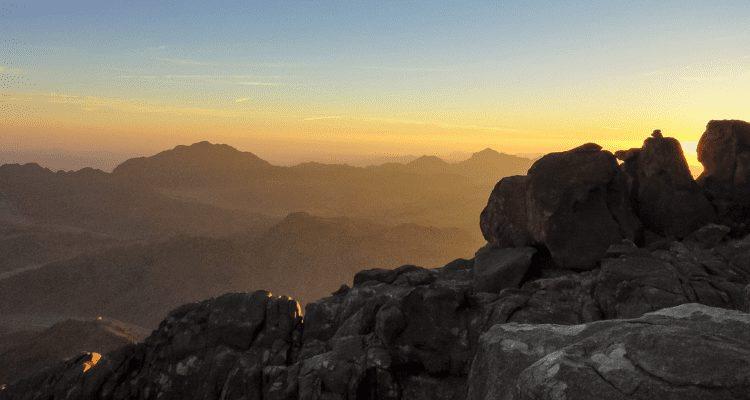 Mount Sinai Sunset