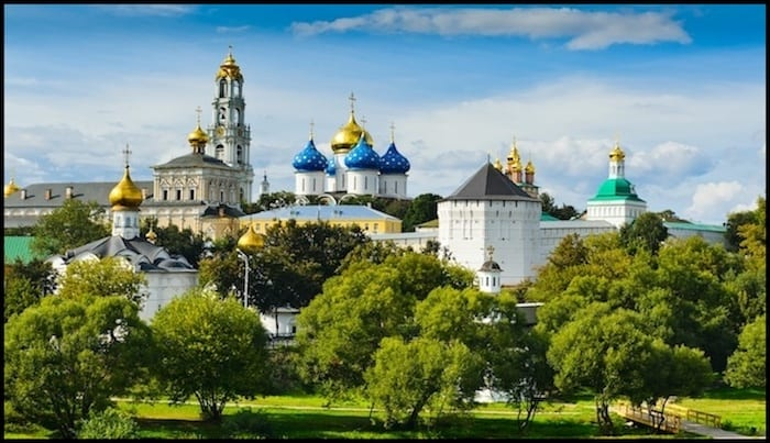 Golden Ring Russia Tour