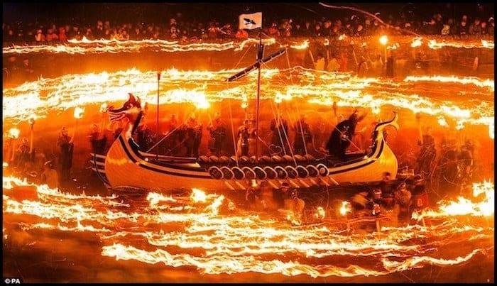 Up Helly Aa Viking Festival Winter Adventure