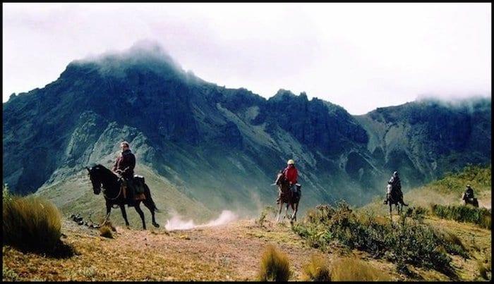 Horseback Riding Andes Mountains