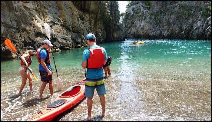 Naples Italy Kayaking Fall Adventure