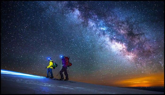 Mount Shasta Winter Night Hike