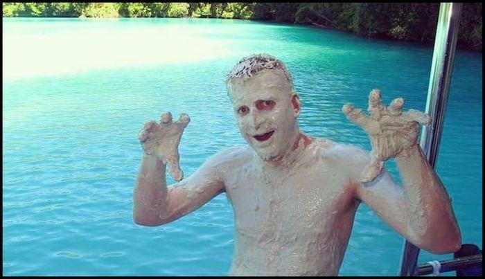 Natural Mud Bath Summer Adventure