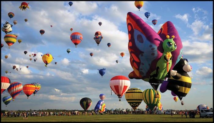 Quebec Hot Air Balloon Festival Fall Adventure