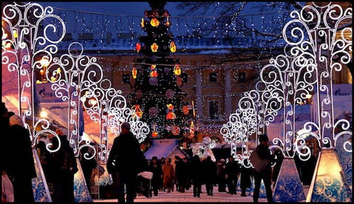St. Petersburg Christmas Winter Adventure