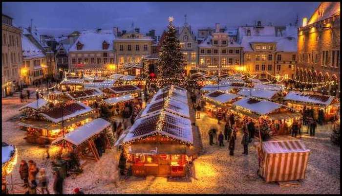 Tallinn Estonia Fairytale Winter Adventure