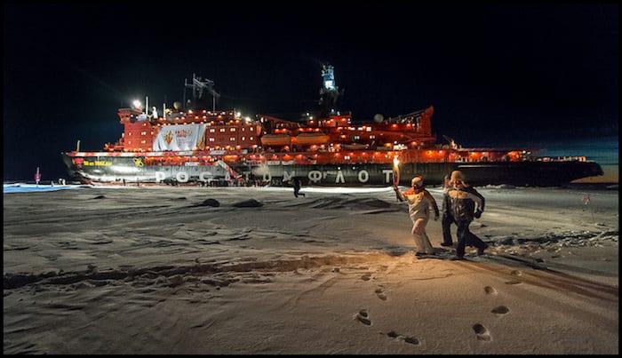 Ice Breaking Arctic Cruise Winter Adventure