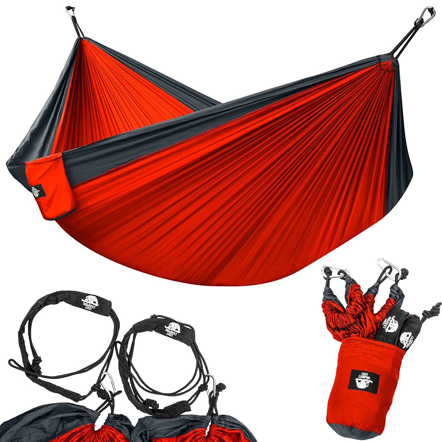 adjustable fully co products extra dsc straps long little river double adjustbale ripstop red hammock gray flat hanging