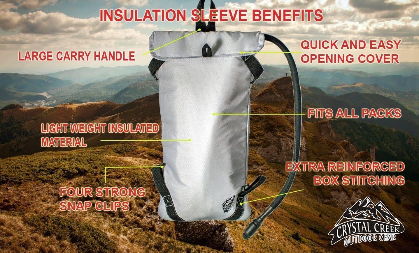 crystal creek 3l hydration bladder insulated sleeve. Black Bedroom Furniture Sets. Home Design Ideas