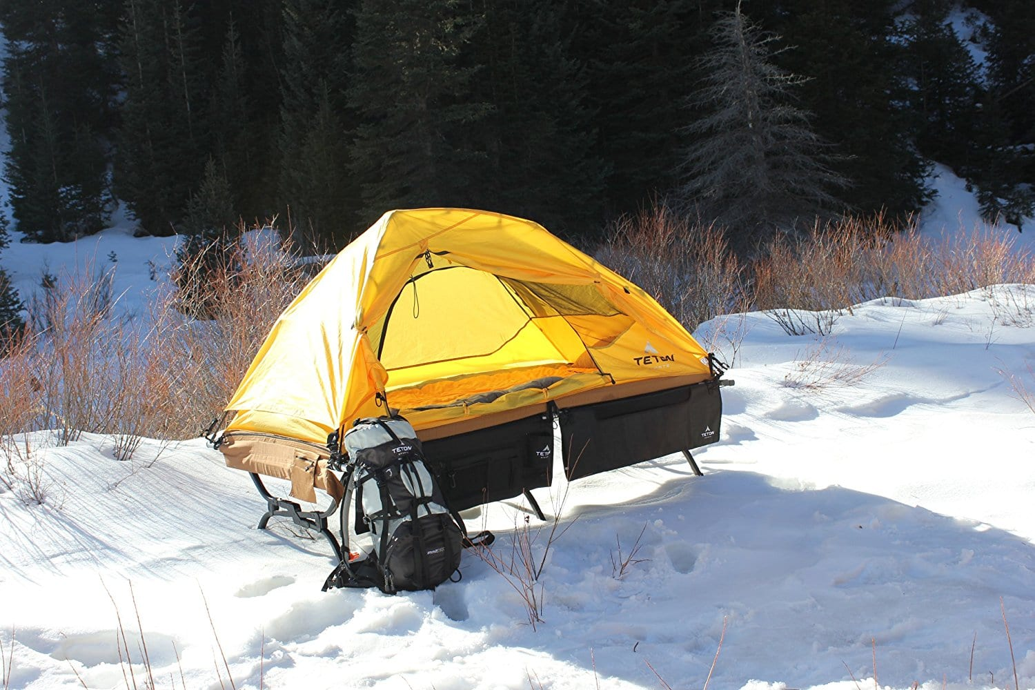 Ultralight Tent & TETON Sports Outfitter XXL Ultralight Quick Tent - 1 Man Pop Up